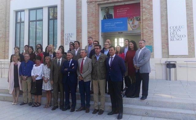 Reunión Red de Ciudades AVE en Málaga