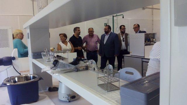 Inauguración de los nuevos estudios de Industrias Alimentarias