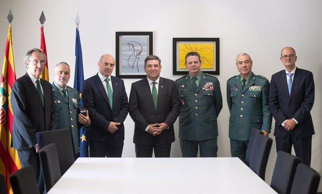 El Grupo San Valero colabora en la formación de la Guardia Civil