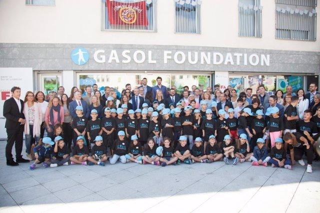 Inauguración de la Gasol Foundation