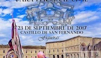 250 civiles jurarán la bandera española en Figueras (Girona) una semana antes del 1-O
