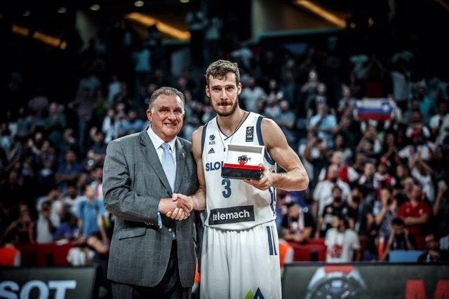 Goran Dragic, MVP del EuroBasket 2017