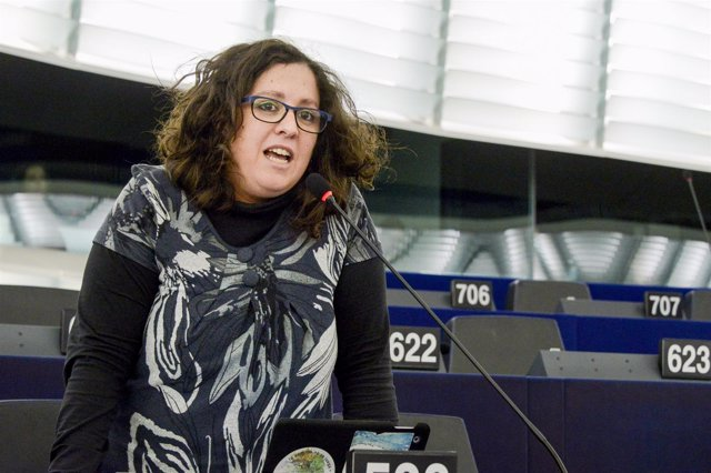 La eurodiputada de Podemos Estefanía Torres