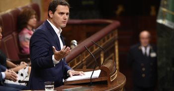 La iniciativa de Ciudadanos sobre Cataluña escenifica la división en el Congreso