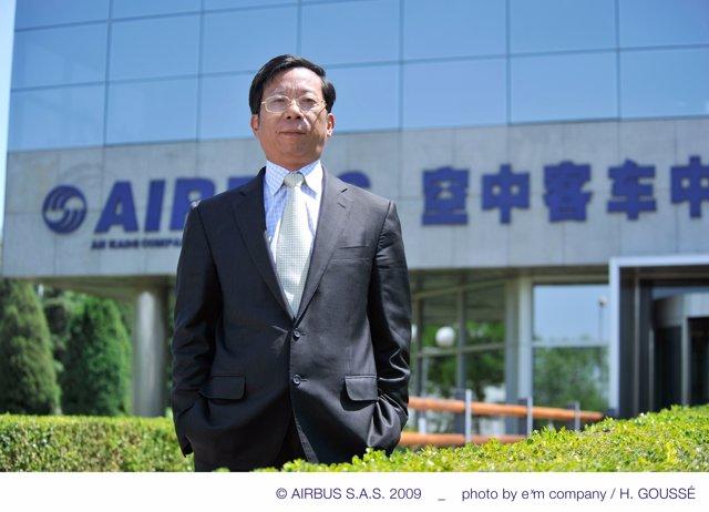 Eric Chen, presidente de Airbus en China
