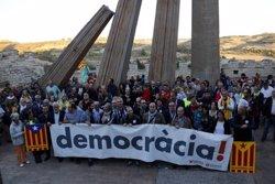 Cervera acull un acte unitari de suport als alcaldes de la Segarra a favor del referèndum de l'1-O (ACN)