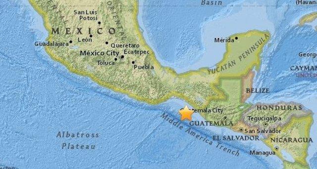 Terremoto de 8,1 de magnitud en la escala de Richter en México