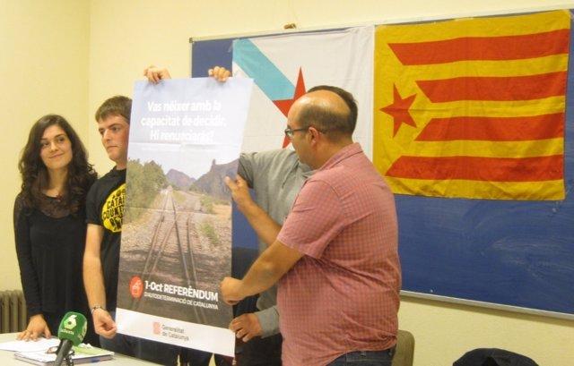 Acto de Galiza Nova de apoyo al referendo