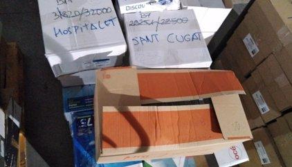 La Guardia Civil interviene en Unipost más de 45.000 sobres nominales para formar las mesas del 1-O