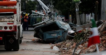 Aterradoras imágenes y vídeos tras el terremoto de 7,1 grados en México