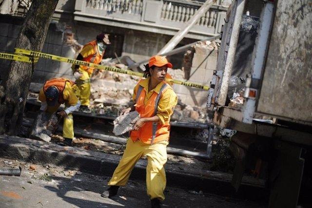 Ascienden a 149 los muertos a causa del terremoto en México