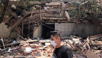 Fotos y vídeos tras el terremoto en México