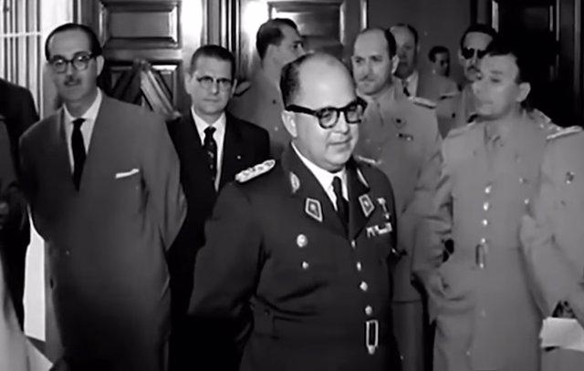 El dictador venezolano, Marcos Pérez Jiménez