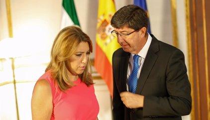 PSOE-A y Cs firman hoy el acuerdo sobre los Presupuestos para 2018