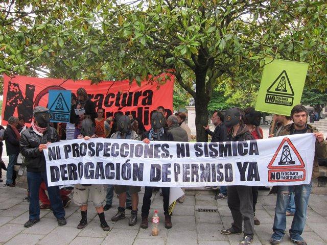 Protesta contra la fractura hidráulica