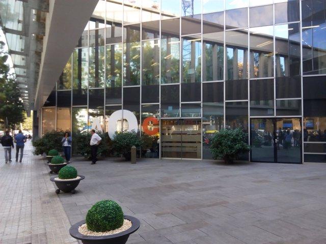 La sede del Consorci Administració Oberta de Catalunya este miércoles