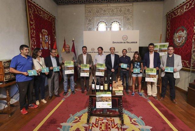Valladolid: presentación 'Corriendo entre viñas'