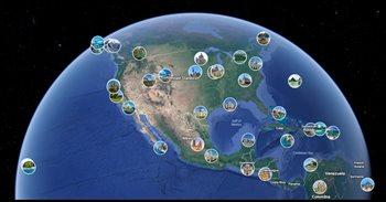 Google Earth añade una pestaña con imágenes de los usuarios de Google Maps