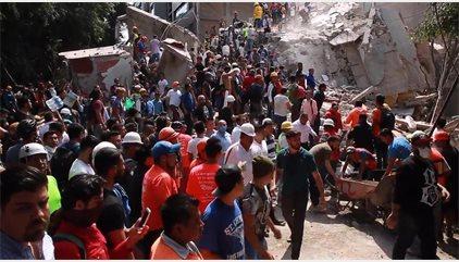 Muere un español en el terremoto de México y se busca a alrededor de una decena