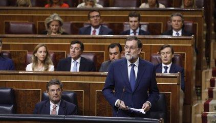 Rajoy se reúne con Sánchez y Rivera en Moncloa por separado tras las últimas actuaciones en Cataluña