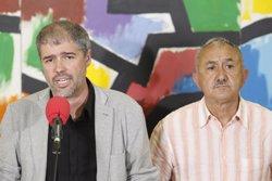 1-O.- Álvarez (UGT) demana que s'expliquin els escorcolls a Catalunya perquè no s'està davant un estat d'excepció (EUROPA PRESS)