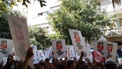 """La CUP exige a la Policía la orden para requisar material o """"aquí no se mueve ni Dios"""""""