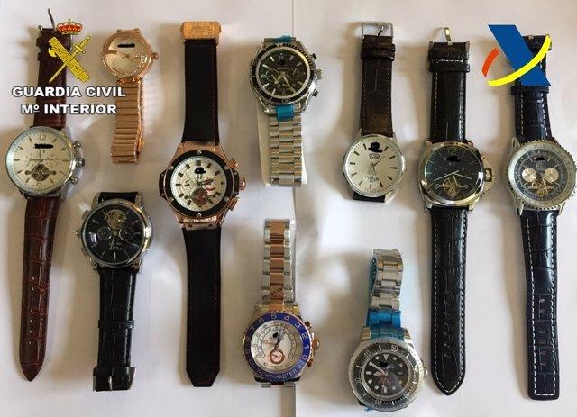 Nota De Prensa (Relojes Falsos)
