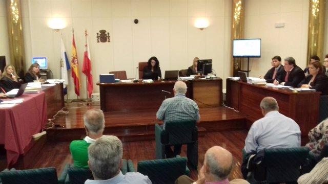 Declaración de Muguruza en el juicio del caso Santa Catalina