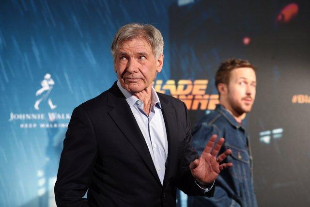 Photocall con Harrison Ford y Ryan Gosling por Blade runner