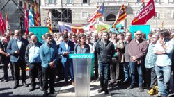 ANC i Òmnium criden els ciutadans a concentrar-se el diumenge davant els ajuntaments (EUROPA PRESS)