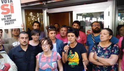 """La CUP llama a la """"resistencia pacífica"""" y a no caer en provocaciones"""