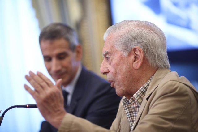 Mario Vargas Llosa y Rubén Gallo presentan su novela Conversación en Princeton