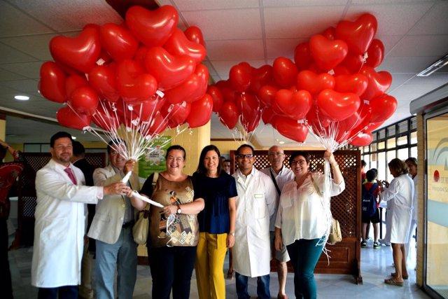 Celebración del Día del Corazón en el hospital San Carlos