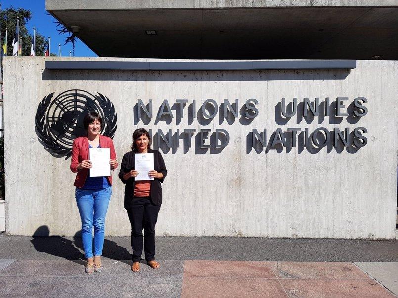 """El BNG formaliza en la ONU su denuncia contra la """"impunidad del franquismo"""": """"Es una ofensa para todas las víctimas"""""""