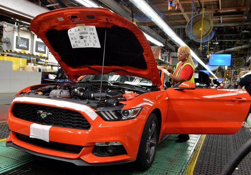 Ford paralizará la producción en varias plantas de Norteamérica para reducir 'stock'
