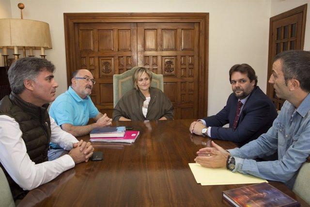 Reunión Ayuntamiento-CEEP y Alsa