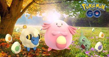 Pokémon GO tendrá un evento de otoño, con huevos especiales y el doble de polvos estelares
