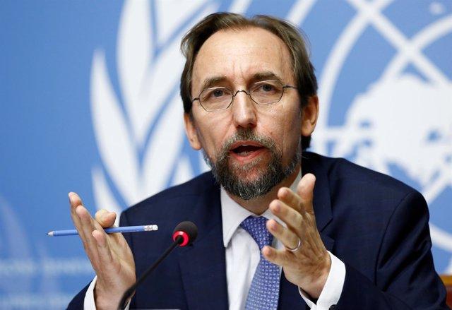 Zeid Raad al Hussein, el Alto Comisionado de la ONU sobre Derechos Humanos