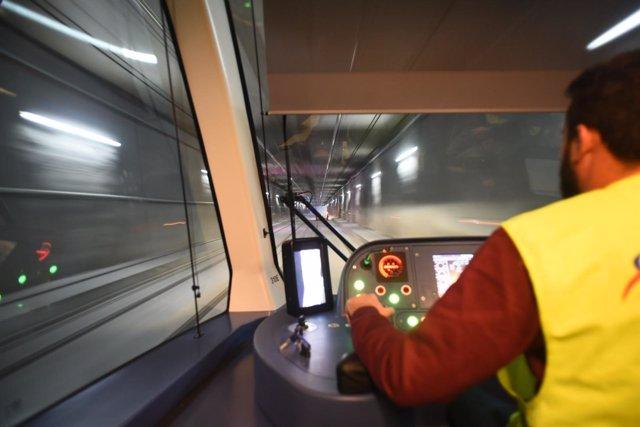 Nota Y Foto/ Las Pruebas Del Metro De Granada Registran Un Mayor Número De Incid