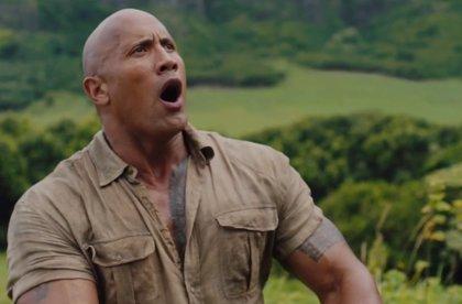 """Dwayne Johnson es el líder en el tráiler de Jumanji 2: """"¡Todo el mundo a correr!"""""""