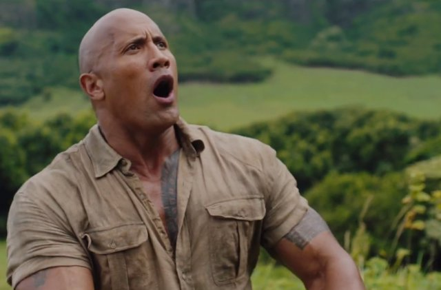 Dwayne Johnson en Jumanji 2