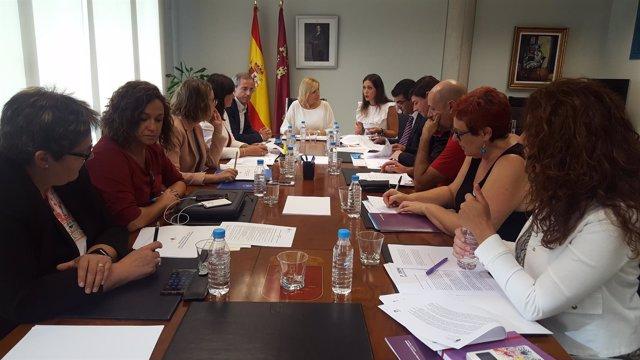 Foto/ Reunión Para Avanzar En El Pacto Regional Contra L A Violencia De Género
