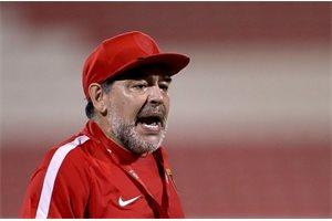 La equivocación de Maradona que desata las críticas en las redes