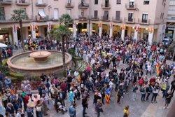 Més de mig miler de persones es concentren a Tortosa per rebutjar l'operació policial a Catalunya i reivindicar l'1-O (ACN)
