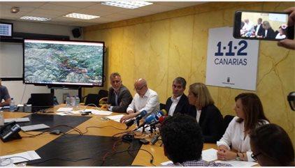 El incendio de la cumbre de Gran Canaria alcanza las 2.000 hectáreas y afecta a cinco municipios