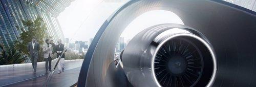 Sistema Hyperloop de HTT