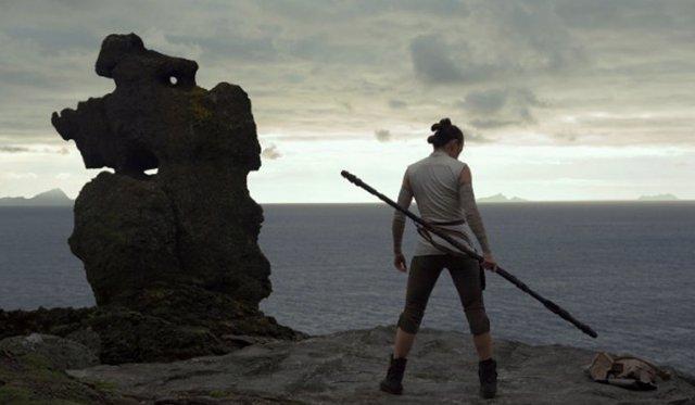 Daisy Ridlay en 'Star Wars: Los últimos Jedi'
