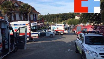 Diez personas intoxicadas, cuatro muy graves, por monóxido de carbono en un hotel de Isla (Cantabria)