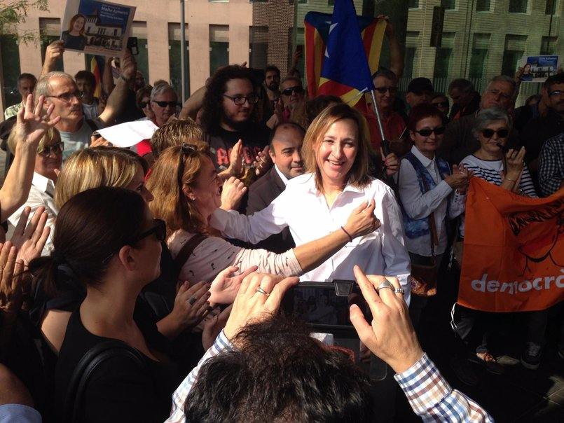 La alcaldesa de Sant Vicenç dels Horts se niega a declarar ante Fiscalía