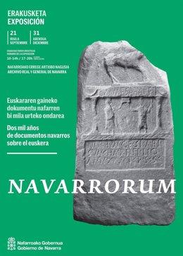 Cartel de la exposición 'Navarrorum'